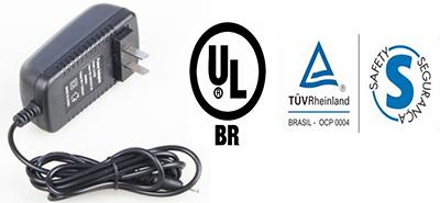 音视频产品电源出口巴西,申请Tuv s-mark,UL BR认证详情